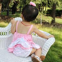 Летний детский сарафан с трусиками для девочки