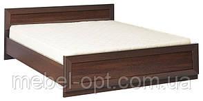 Кровать большая двухспальная Клео 2 сп (SM), темный венге, элемент модульной мебели для спальни 1685*705*2120