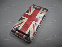 Силиконовый TPU чехол Huawei Y3 II / Y3 2  (British Flag), фото 1
