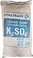 """Сульфат калия """"Украина"""" (сернокислый), 25кг, Калийное серосодержащее удобрение"""