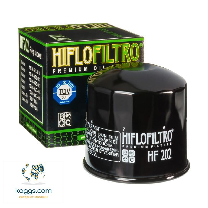 Масляный фильтр Hiflo HF202 для Honda, Kawasaki.