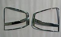 Хром накладки на задние фары (стопы) Kia Cerato ( 2004-2009 г.)