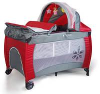Манеж-кровать Premium Red