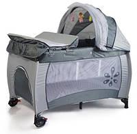 Манеж-кровать Premium Grey