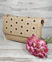 """Женская сумка клатч """"Сердце"""""""
