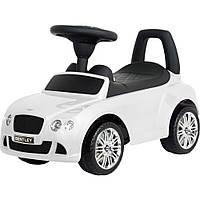 Машинка каталка-толокар Bentley с музыкальной панелью