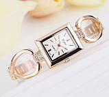 Женские часы золотистые, фото 2