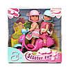 """Кукла Simba Эви """"Веселое путешествие на скутере"""" со шлемом (5730485)"""