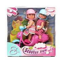 """Кукла Simba Эви """"Веселое путешествие на скутере"""" со шлемом (5730485), фото 1"""