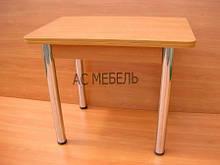 Стол раскладной на металлических ногах цвет бук