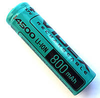 Аккумулятор Videx Li-Ion 14500, 800mAh (без защиты)