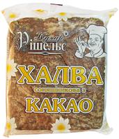 Халва подсолнечная с какао Кухар Ришелье 0,5 кг 908685