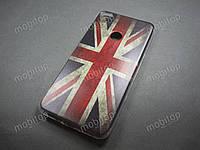 Силиконовый TPU чехол Huawei P8 Lite 2017 (British Flag)