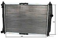 Радиатор охлаждения Chevrolet Aveo (1.6 механика) 600*430мм по сотах