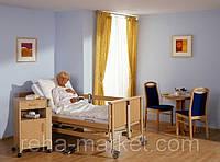 Burmeier DALI II Care Bed Медицинская Электрическая 4 Функциональная Кровать для Реабилитации, фото 1