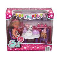 """Кукольный набор Simba Эви """"Вечеринка для домашних любимцев"""" со сладостями и аксес. (5732831)"""