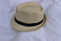 Шляпа мужская, купить оптом со склада, летняя, 3486 SH-0023
