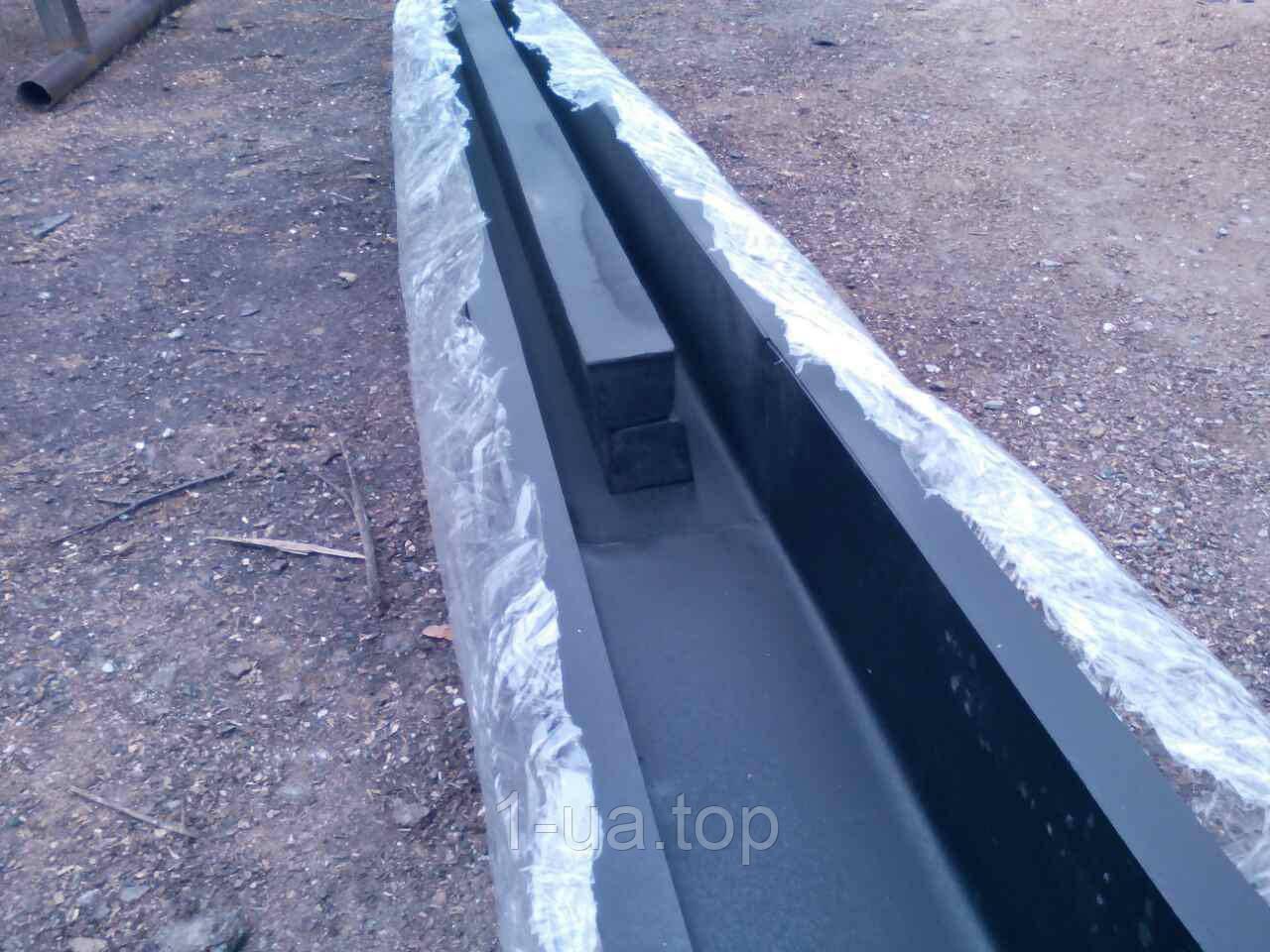 Формы  железные для столбов еврозаборных на 3 плиты 2,2м от производителя.
