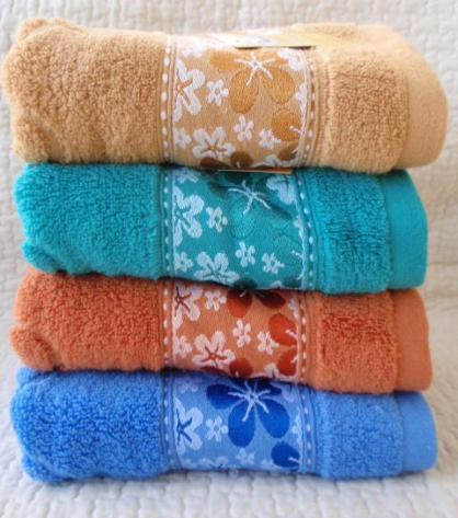 ЛИЦЕВОЕ махровое полотенце. Махровые полотенца фото 84-2