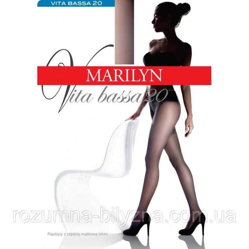 Marilyn Vita bassa 20 den Колготки с заниженной талией полуматовае черные (black)