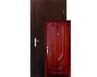 Двери входные Zimen Fort (металл-МДФ) - Щит (золотой дуб) 860*2030 мм.