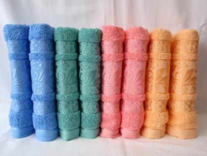 БАННОЕ махровое полотенце. Качество. Махровые полотенца оптом 85-1