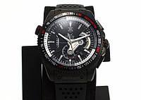 Часы Tag Heuer Carrera calibre 36 black, механические, мужские