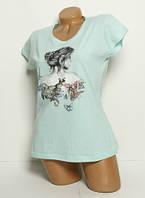Женская футболка Back 241x14 Турция s/m/l