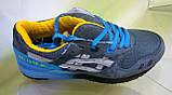 Мужские кроссовки Asics Gel Lyte 3 серые с голубым, размеры с 41 по 45, фото 2