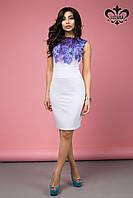 Стильное женское платье Лючия  Luzana 42-50 размеры