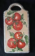 Доска на кухню в технике декупаж, промасленная, 115/95 (цена за 1 шт. + 20 гр.)