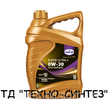 Синтетическое моторное масло Eurol Super Ultra II 0W-30 (5л)