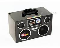 Акустическая система, радиоприемник Opera-7705. Колонка портативная с радио