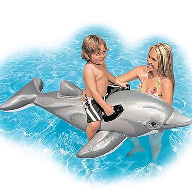 Детский надувной плотик Intex 58535  Дельфин