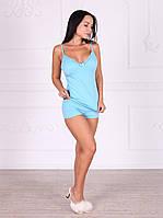 Комплект Laguna, пижама красивого голубого цвета 337.