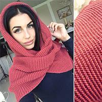 Универсальный шарф-хамут для стильных девушек