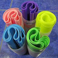 Эластичная лента для фитнеса в футляре (L-150 см, h-15 см)