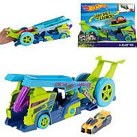 Грузовик-пускатель Молниеносные половинки,  Hot Wheels, Mattel