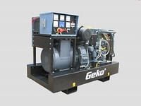 Трехфазный дизельный генератор Geko 130003ED-S/DEDA (125 кВа)