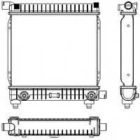 Радиатор Mercedes W124,201 2,0 84-93 АКПП AC- 295*340 2015004603/0603/3803