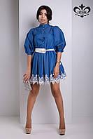 Модное женское платье Ришелье №2 Luzana 42-48 размеры