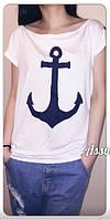 Универсальная и практичная футболка морской тематики