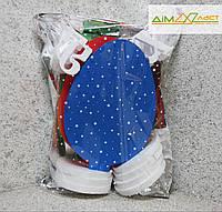 Пасхальні яйця великі ХВ 32см 3шт. фарбовані