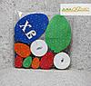 Пасхальні яйця Асорті №1 21шт. фарбовані