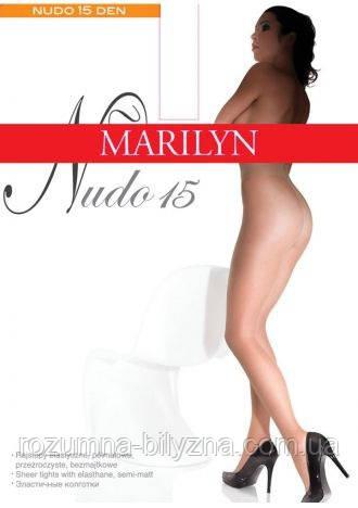 Marilyn NUDO 15 женские колготки черные (Nero),3,4