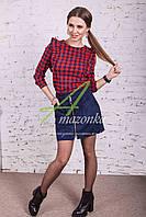 Женская замшевая юбка от производителя АМАЗОНКА - модель 2017 - Код У-13