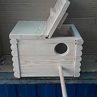 Гнездо для волнистого попугая