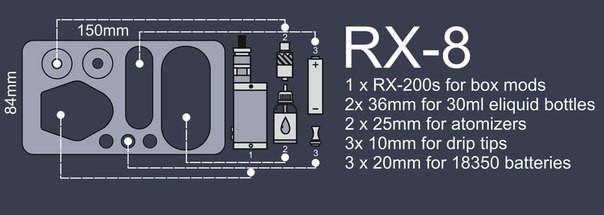 ArtVape RX-8. Органайзер