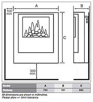 Электрический камин Dimpleх Redway, фото 3