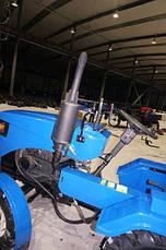 Мототрактор LIDER-LUX 150 с регулировкой передней колеи, фото 3